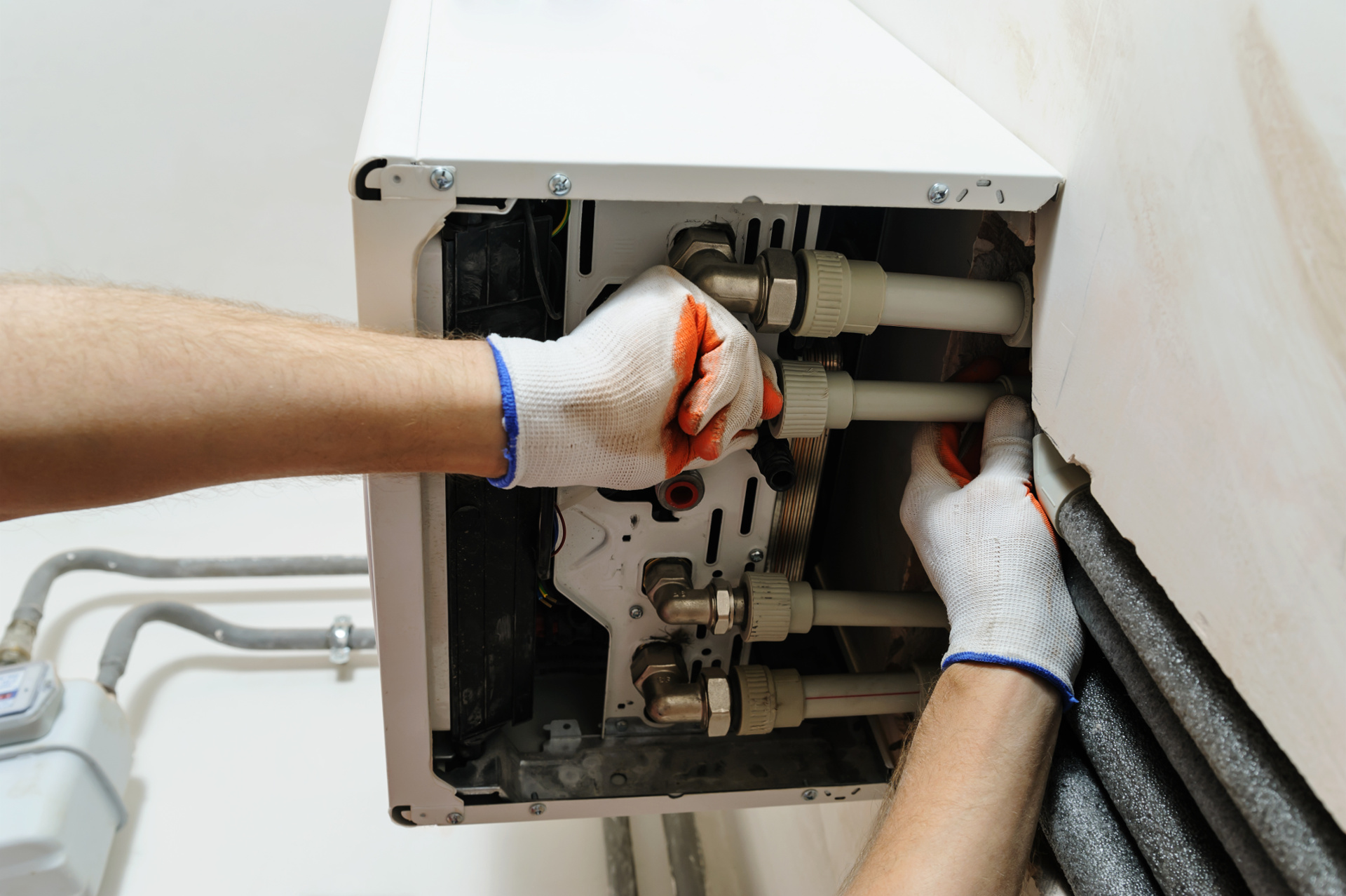 Plumbing - Boiler service & Repair + Installation of home heating.